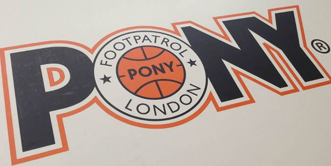 Pony x Foot Patrol Top Star Trainers