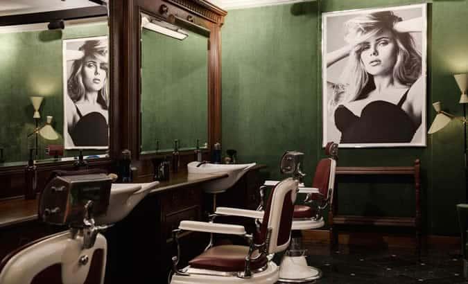 Dolce & Gabbana's Barbershop London