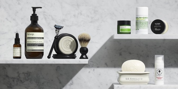 MR PORTER Launches Grooming Range