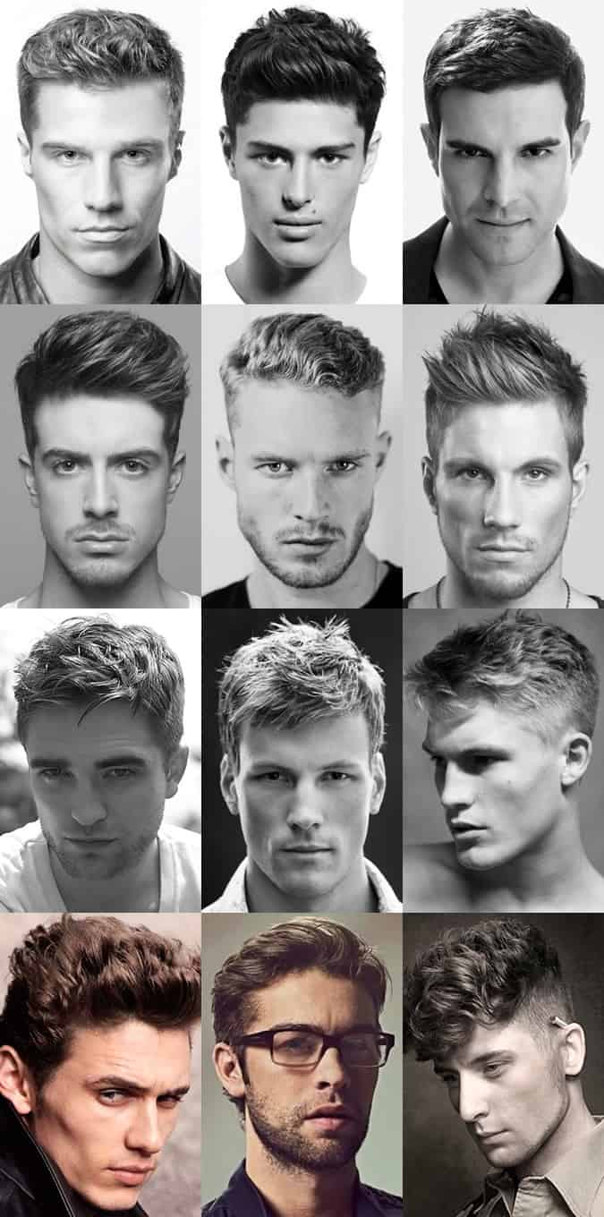 Men's Dishevelled Hairstyles