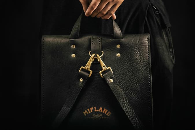 Mifland Leather Goods Autumn/Winter 2013 Lookbook