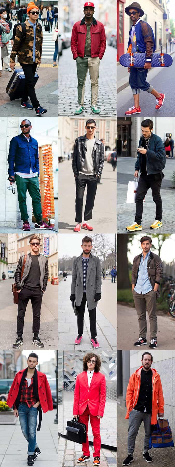 new balance men's fashion trainers
