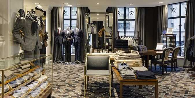 Hackett Opens New London Flagship Store