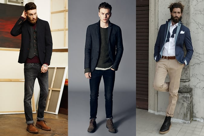 Men's Navy Blazer Lookbook - 3 Ways To Wear