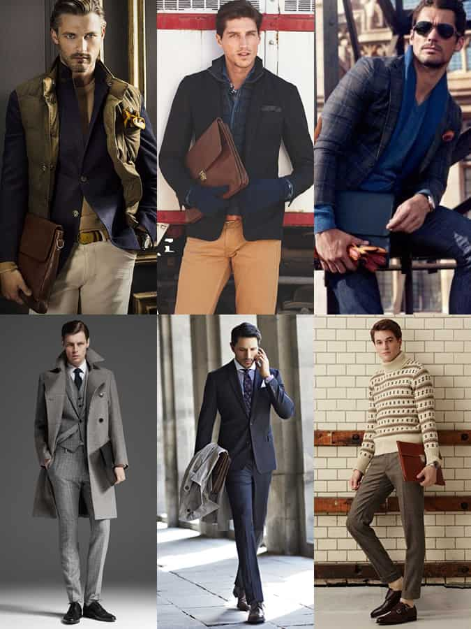 Men's Document Holder Lookbook/Outfit Inspiration