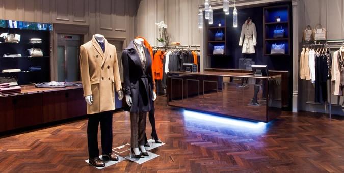 Aquascutum Opens New Central London Store