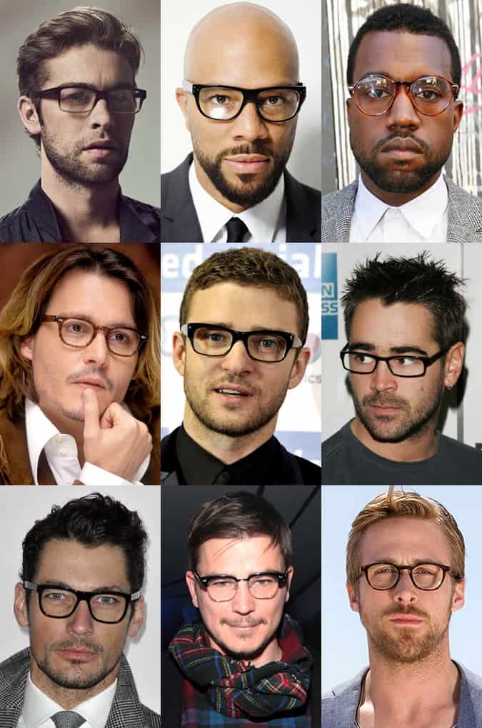 S Hollywood Male Actor With Big Round Glasses