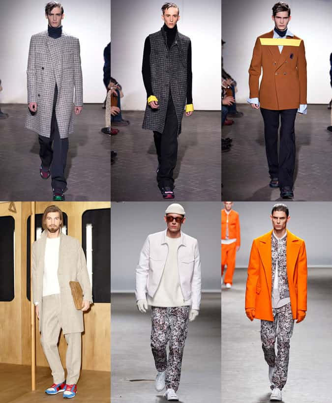 Men's Trainers & Sports Shoes at Raf Simons (Top), Ami and Richard Nicoll (Bottom) AW13