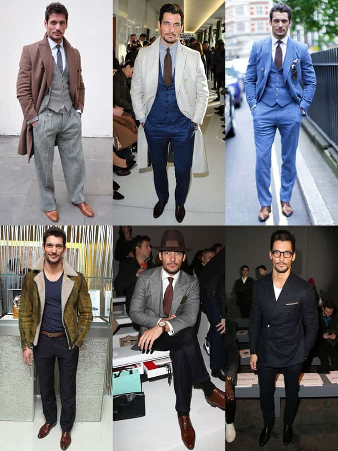 David Gandy 2013 Outfits Lookbook