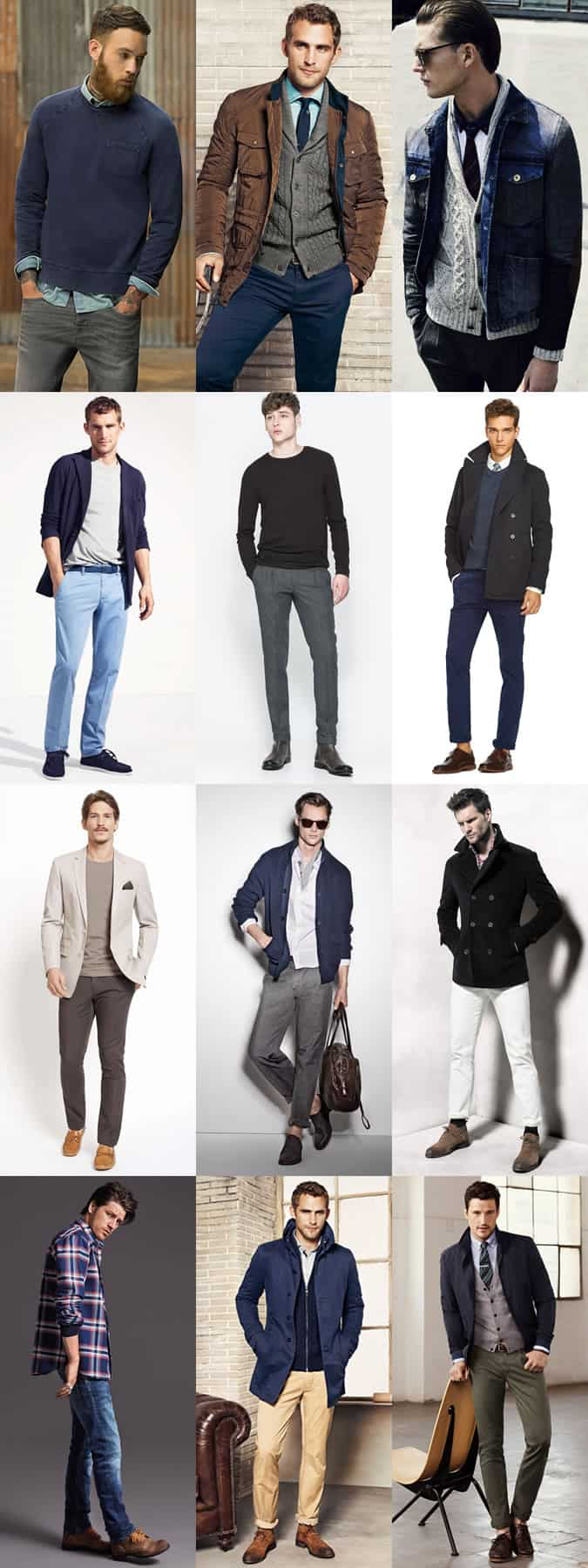 Men's Classic, Timeless Outfit Inspiration Lookbook