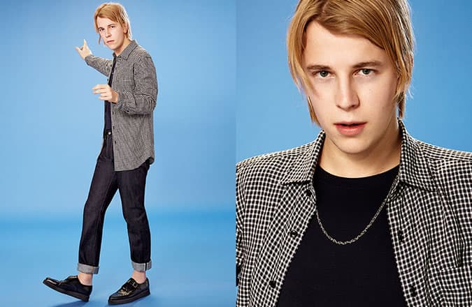 Tom Odell For UNIQLO Campaign Look 4