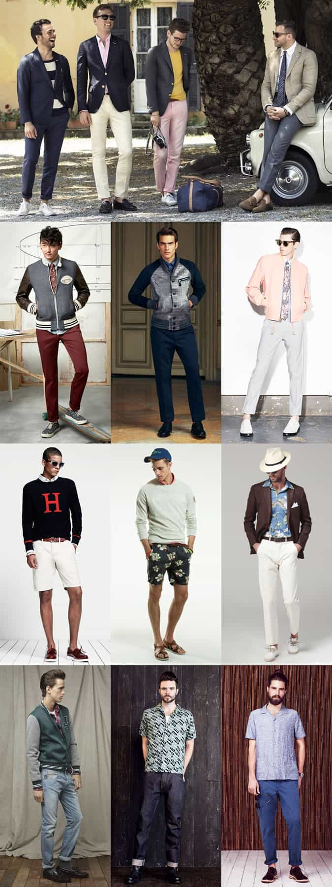 Men's Americana-Inspired Outfit Inspiration Lookbook
