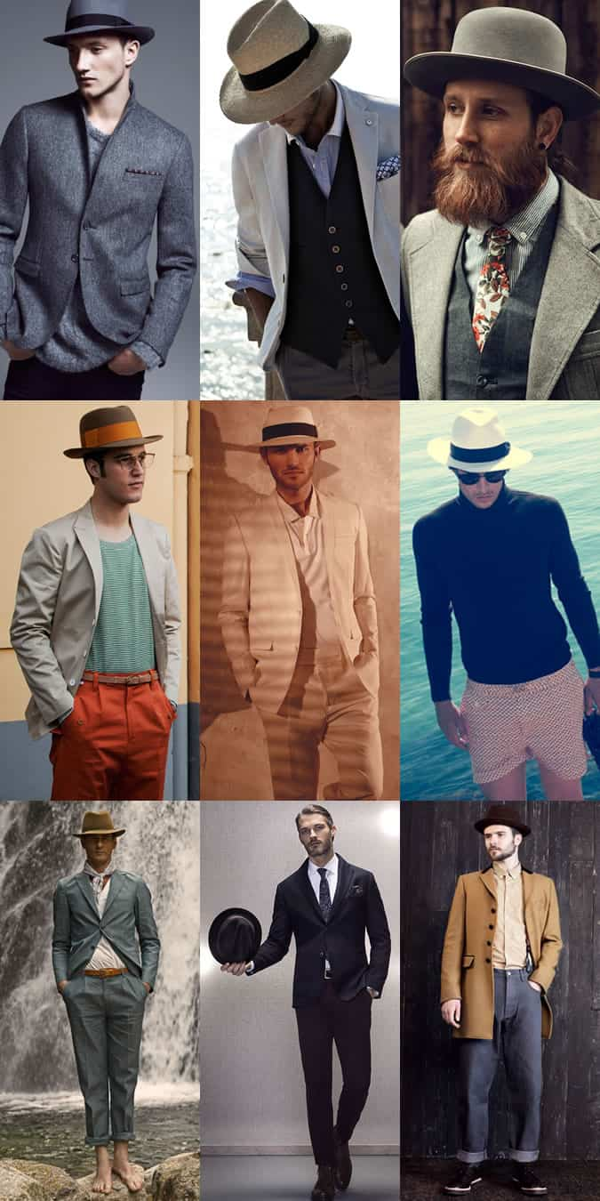 Men's Wide Brim Hat Outfit Inspiration Lookbook