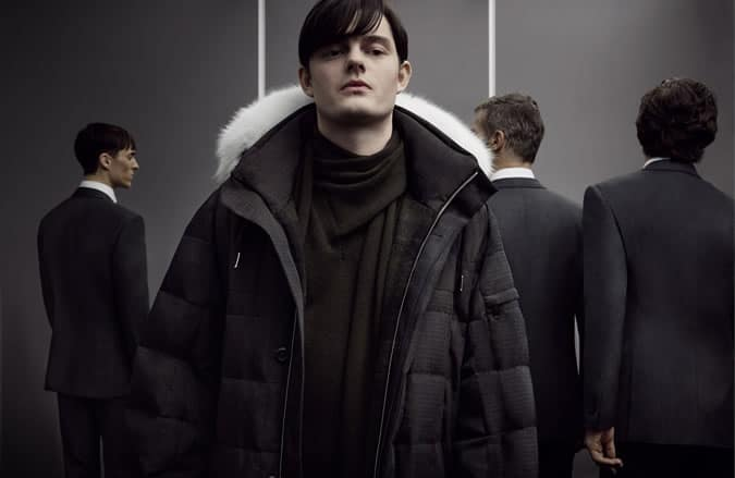 Sam Riley for Ermenegildo Zegna Couture AW14 Collection