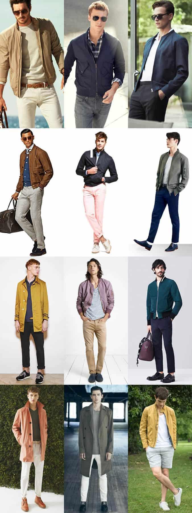Men's Lightweight Summer Outerwear Layering Lookbook