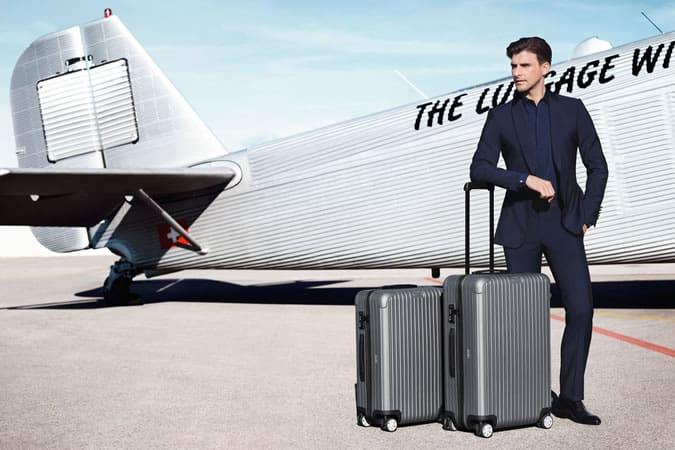 Johannes Huebl For Rimowa Luggage