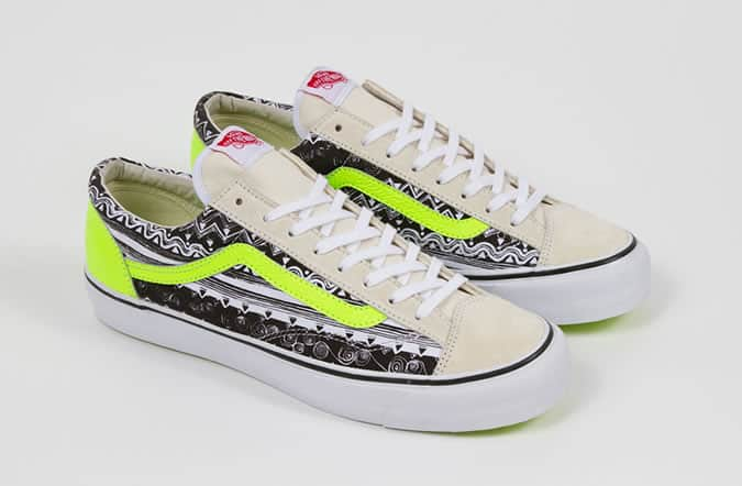 Vault by Vans x Stussy Collaboration Print Trainers