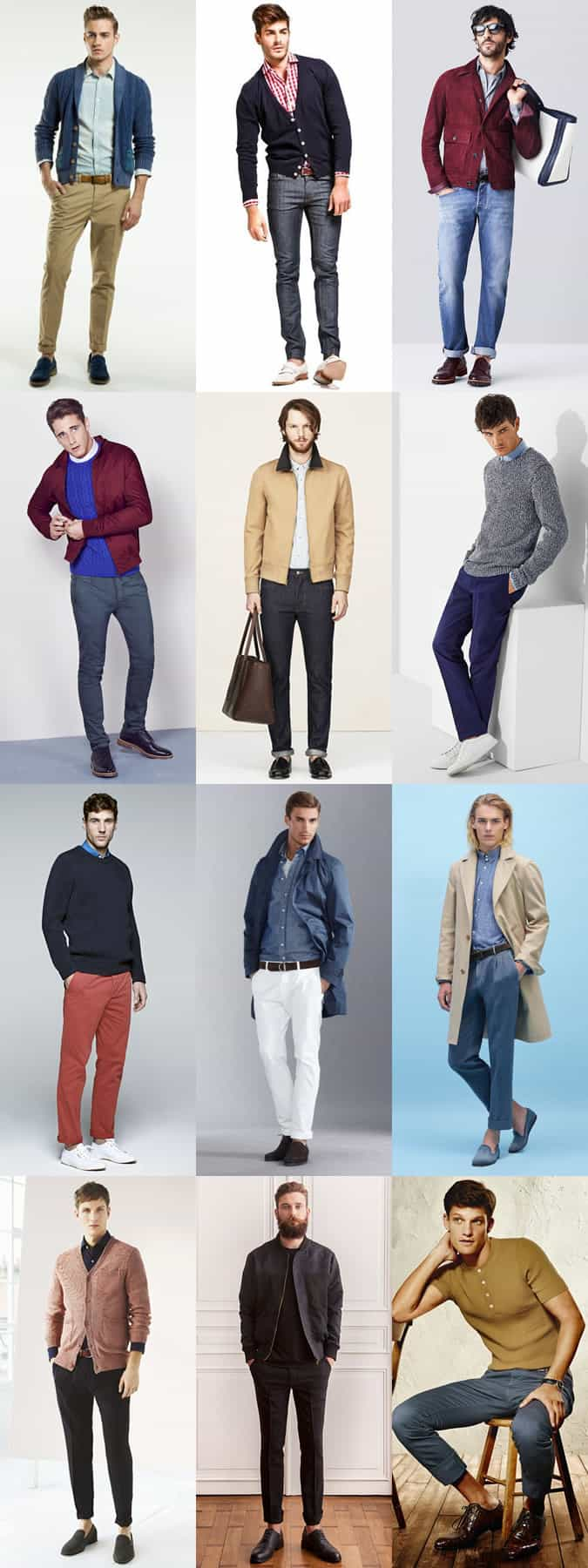 Men's Dress Down Friday Outfit Examples - Using Fabrics, Textures and Colours To Individualise Your Look