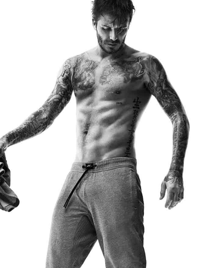 David Beckham Bodywear For H&M AW14