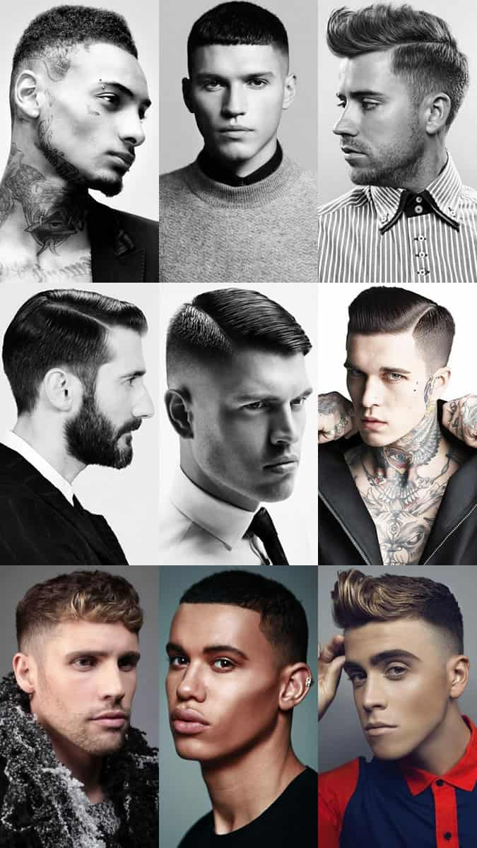 Get The Right Haircut Key Mens Hairdressing Terminology Fashionbeans
