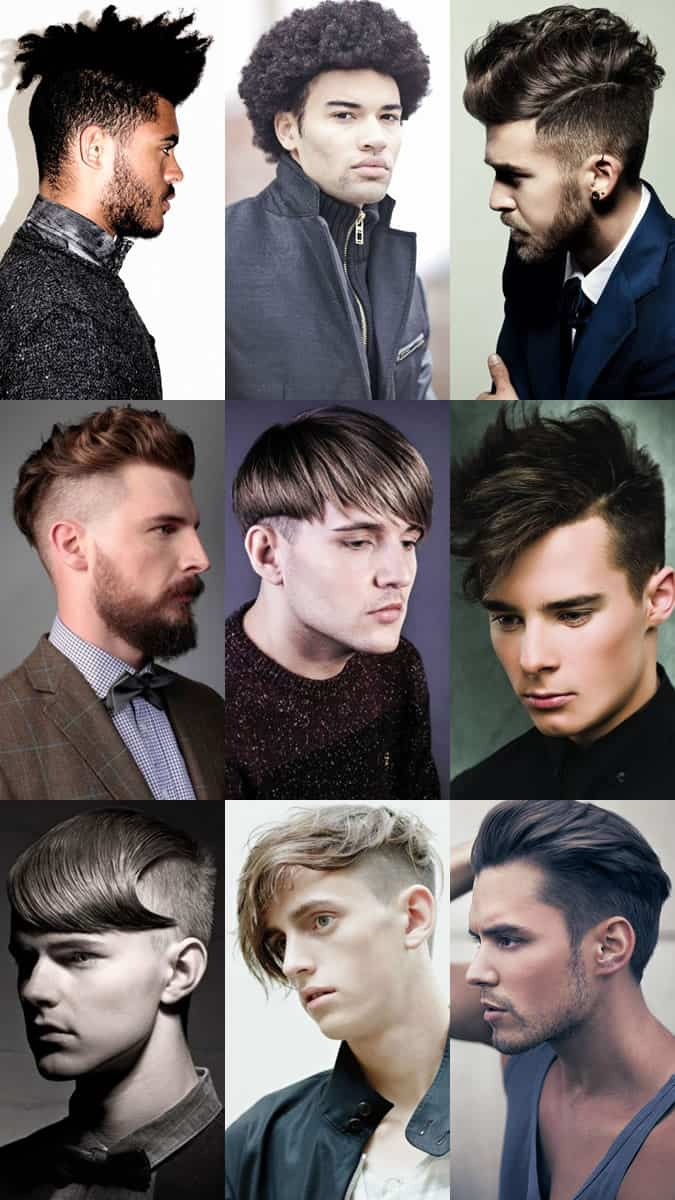 all types of haircuts for guys get the right haircut key s hairdressing terminology 4959