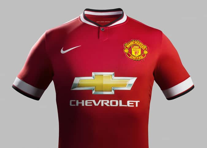 Manchester United Home Kit 2014/15 Season