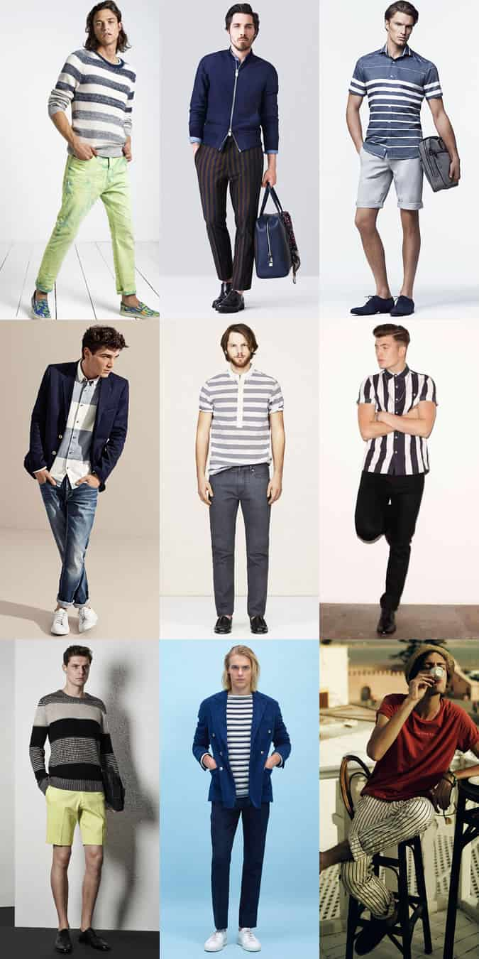 Men's Stripes Lookbook - Spring/Summer Outfit Inspiration