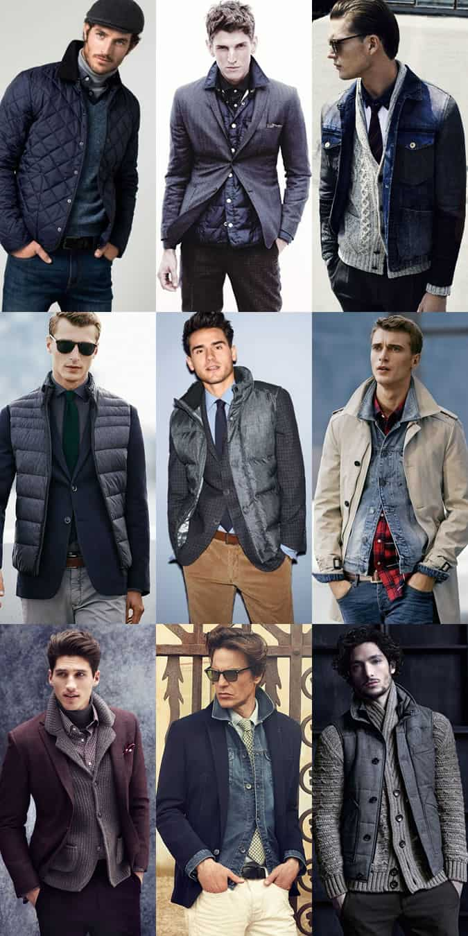 Men's Creative Layering Outfit Inspiration Lookbook