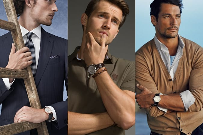 Men's Round Face Watches Lookbook