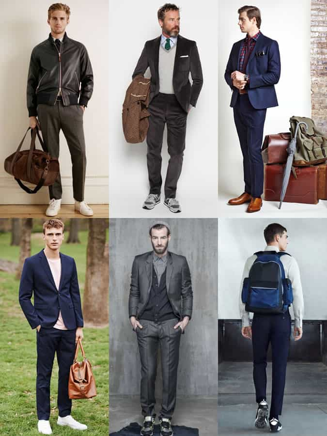 Casual Accessories And Footwear With Suiting and Tailoring - Men's Winter Outfit Inspiration Lookbook
