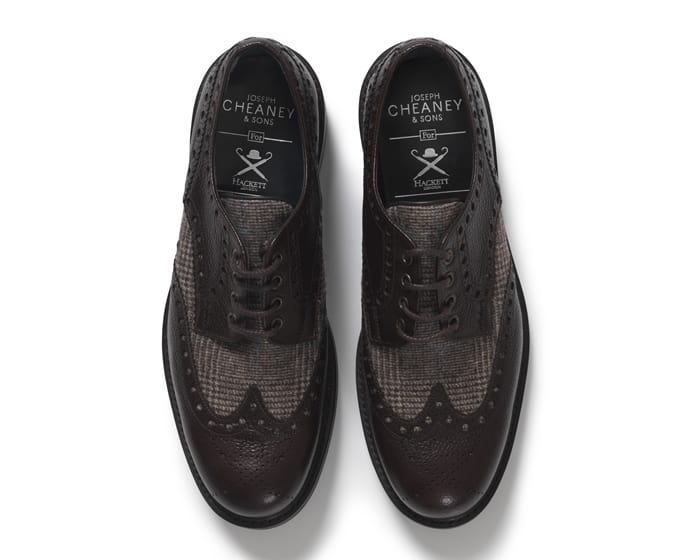 Hackett x Joseph Cheaney & Sons and Fox Brothers