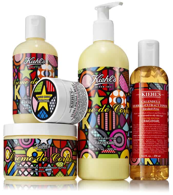 Kiehl's x Craig & Karl Holiday Collection