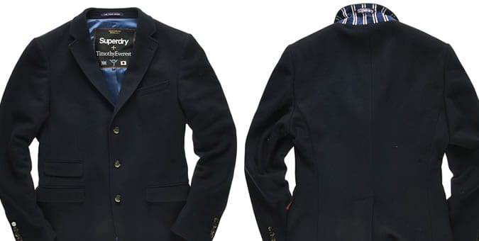 Superdry x Timothy Everest Menswear: AW14 Collection