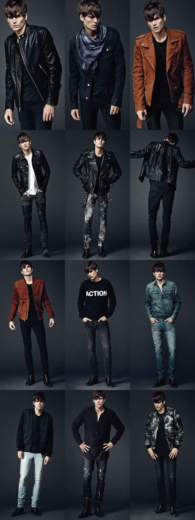 Men's BLK DNM Lookbook