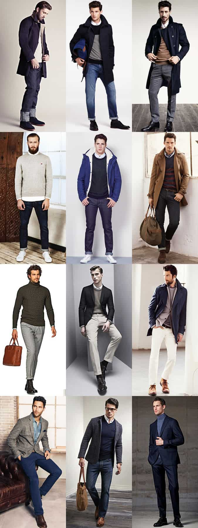 A Winter City Break In London, UK - Men's Smart-Casual Cold-Weather Outfit Inspiration Lookbook
