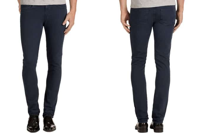 J Brand Men's Mick Blue Delta Jeans