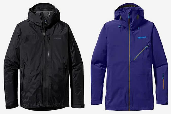 Patagonia Insulated Torrentshell Jacket and Untracked Jacket
