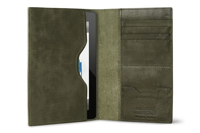 Shinola Leather iPad Mini Journal Case