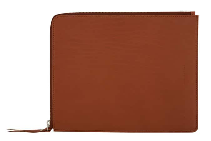 SANDQVIST BROWN BENGT LEATHER IPAD CASE