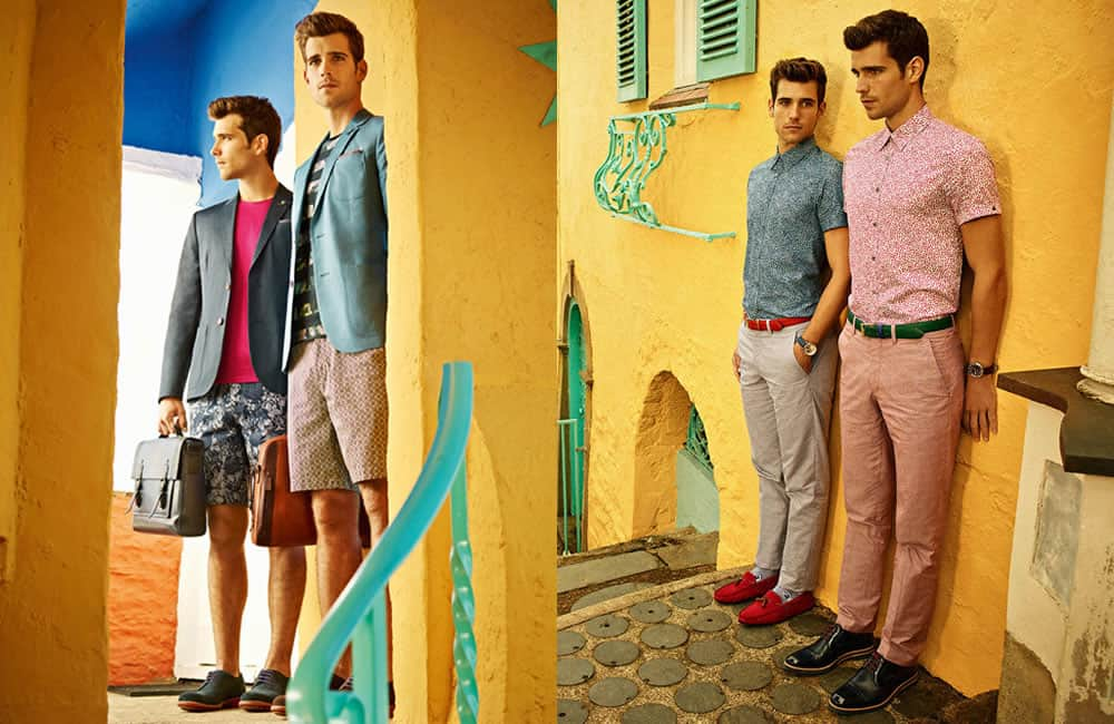 Ted Baker SS15 Holiday Shop - Destination: Chefchaouen, Morocco