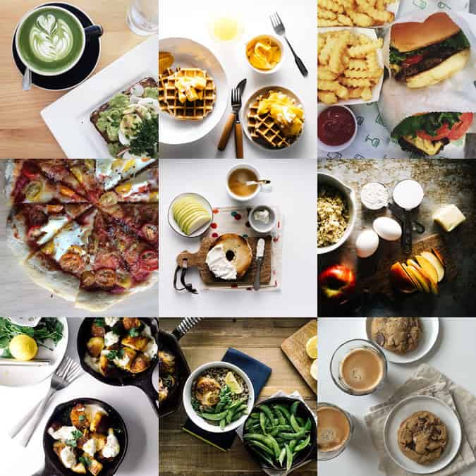 I am a food blog instagram