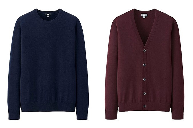 Uniqlo Merino Wool and Cashmere Knitwear