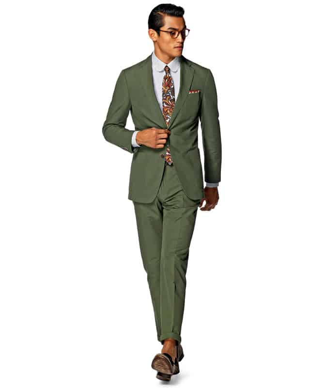 Suitsupply Green Summer Suit
