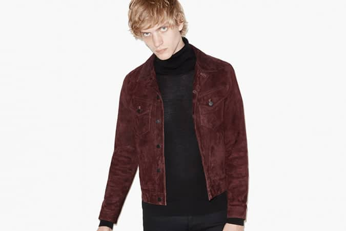 STRAIGHT BOMBER JACKET IN LAMBSKIN