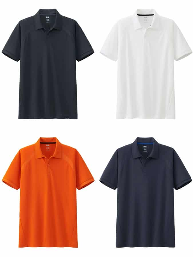 Uniqlo Dry Light EX Polo Shirt