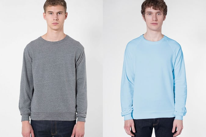 American Apparel Sweatshirts for Men