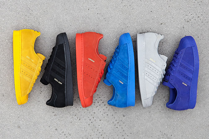 adidas Originals Superstar City Pack Trainers