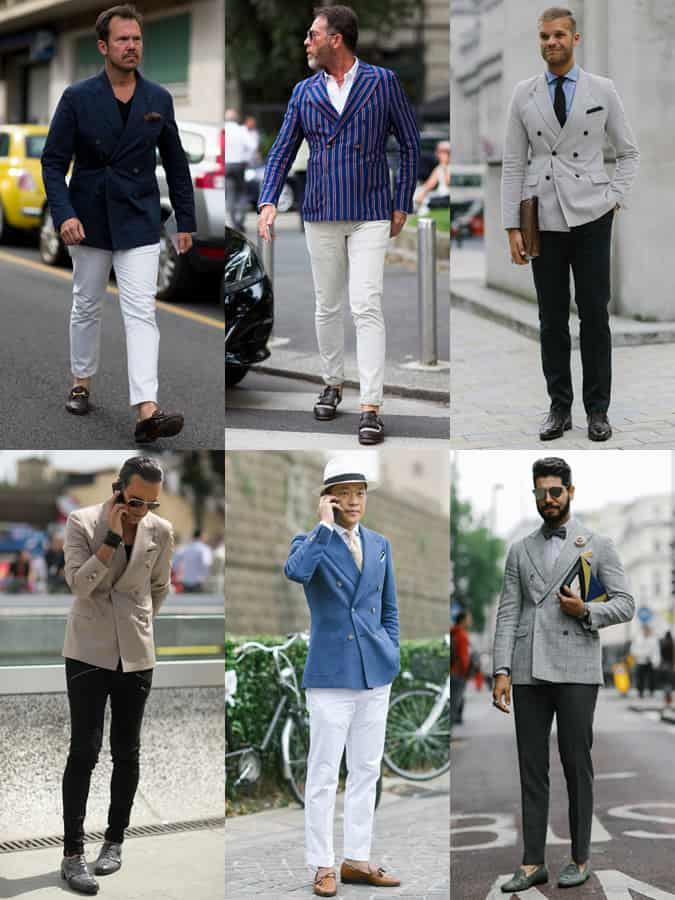 Men's SS16 Street Style Trends - Double-Breasted Blazers