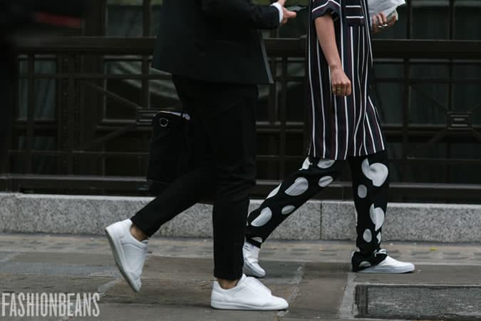 Men's SS16 Street Style Trends - Statement Trainers