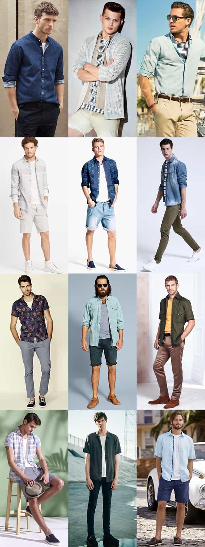 d2b1816bde93 Men s Summer Layering Outfit Inspiration Lookbook